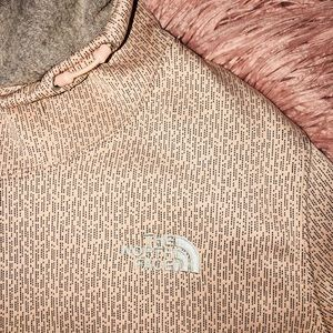 The North Face Tops - North Face Hoodie. Pink&Gray. ❤️❤️❤️